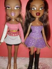 Two pre-owned Bratz Sasha Dolls