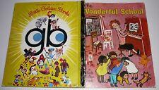 The Wonderful School Little Golden Book 387 HC 1972 Sydney