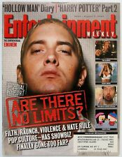 Entertainment Weekly 554  August 11 2000  EMINEM  Kevin Bacon  J.K. Rowling