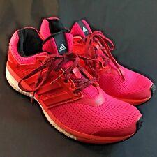Adidas Supernova GLIDE energy BOOST 8 Women's SZ US 9,  41 1/3 HOT PINK RED $160