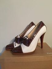 RARE Christian Louboutin VINTAGE Brogue Pumps, Heels, 37.5 (4-4.5) AUTHENTIC