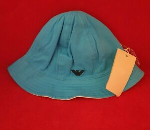 ArmanI Baby - Baby Boys Cloche Bucket Hat - Double Sided - 24/36 Months - LARGE