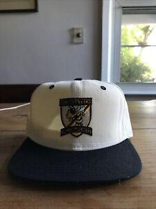 Vintage Deadstock Georgia Tech Yellow Jackets Wool Snapback Hat Cap NCAA 80s 90s