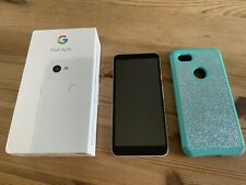 """Google Pixel XL 3a 64GB, 6"""", chiaramente bianco, sbloccato"""