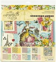 "Graphic 45 Collection Pack 12""X12""-Ephemera Queen"