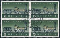 SCHWEIZ 1947, MiNr. 484 II, Plattenfehler, gestempelt, Mi. 200,-