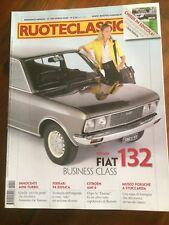 2009 Ruoteclassiche 244 Fiat 132 Innocenti mino turbo Porsche 906 Citroen Ami 6