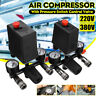 0-180 Psi 220V Air Compressor Pressure Switch Control Valve Regulator Gauges UK