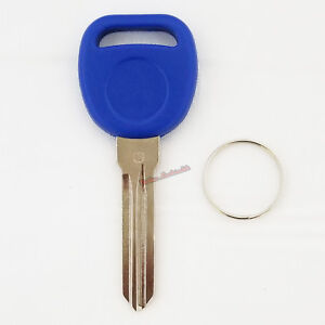 New Blue B111 Transponder Chipped Key For Gm Vehicles Easy DIY Programming ID46