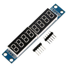 MAX7219 8-Digital Segment Digital LED Display Tube module For Arduino 51/AV I4N7