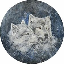 4x4 Spare Wheel Cover 4 x 4 Camper Camper Graphic Vinyl Sticker Wolves AA235