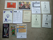 4 page advertising flyer for the fa coaching manuel 1950's?