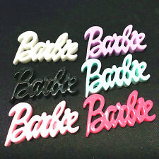 6Pcs mix barbie Kawaii Flatback Scrapbooking Resin Cabochons Craft@