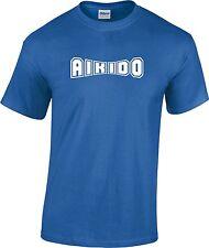 Aikido Martial Arts T Shirt Training Adult
