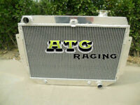 3 Row Aluminum Radiator for Holden Kingswood HQ HJ HX HZ V8 Chevy AT MT