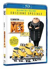 Blu Ray Cattivissimo Me 3 - (Blu Ray 3D) *** Edizione Speciale ***.....NUOVO