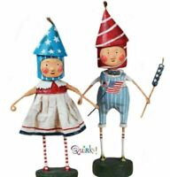 Lil' Firecrackers Set of 2 Firecracker Lori Mitchell Collectible Figurines