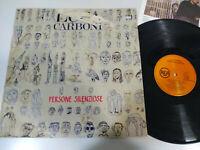 "Luca Carboni Persone Schläft Rca 1989 Spain Edition - LP vinyl 12 "" G VG"