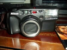 """Vintage Nikon Zoom 800 35MM Camera & Film"""
