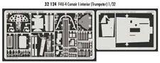 Eduard 1/32 F4U-4 Corsair interior for Trumpeter # 32124