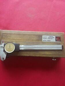 Tesa Messschieber Uhrenmessschieber mit Rundskala 150 / 0,02 mm