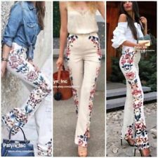 59cdb76a Zara Floral Pants for Women for sale | eBay