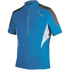 14 New Mens Endura M Hummvee Lite Jersey Shirt Top Ultra Marine Blue XX-Large
