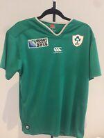 Canterbury Premium XL Ireland Rugby World Cup 2015 Jersey Unique ID