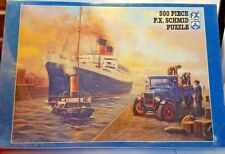 "FX SCHMID 500 Piece Jigsaw Puzzle End of The Voyage No. 92255 17 1/4"" x 13 1/2"""