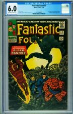 FANTASTIC FOUR #52 CGC 6.0 // First appearance of Black Panther // 3716588001