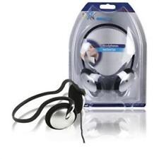 HQ Ohrhörer Nackenbügel Kopfhörer ergonomisch 3,5mm Klinke vergoldet