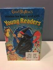 Enid Blyton 4 Book Lot Magic Brush Thirteen O'Clock Greedy Rabbit 12 Silver Cups