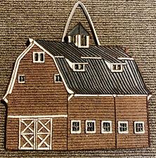 Country Red Barn Trivet Littlejohn Ceramics Farmhouse Wall Decor Kitchen