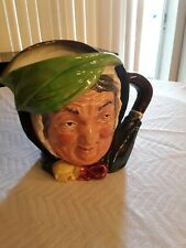 Vintage Royal Doulton Pitcher China eaigned to look like Sairey Gamp made in Eng
