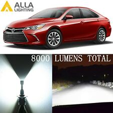 Alla Lighting Low/Main Beam Headlight 9006 HB4 White LED Bulbs Lamps for Toyota
