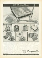 1958 Plummer LTD PRINT AD Sterling Silver Dinnerware and other Fine gifts