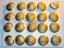 NEW British Royal Navy Naval Queen's Crown QC Large Buttons Quantity 12 or 20