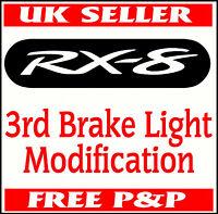 MAZDA RX-8 3RD BRAKE LIGHT STICKER MASK CAR VINYL RX8