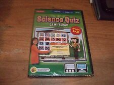 Science Quiz Interactive Game Show Grades 1-3 CD ROM WIN/MAC NEW