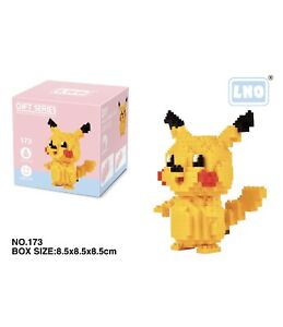 Nintendo Pokemon Pikachu 320pcs Nano Blocks