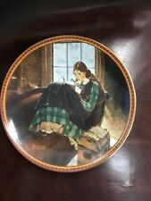 Norman Rockwell Romantic Reverie Collector Plate Treasured Memories 1991