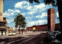 DÜSSELDORF ~1960/70 Strassen Partie Hauptbahnhof Bahnhof, Auto Volkswagen Käfer