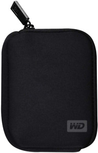 Western Digital 2.5 Inch My Passport Neoprene Case Black