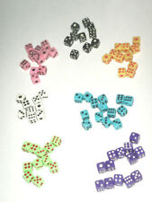 NEW - 50 Miniature 5mm Mini Dice G6 RPG - PICK YOUR COLOR!!! BUY 5 Get 1 FREE!!
