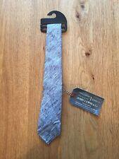 John Lewis Mens Blue Patterned Tie Brand New RRP £39