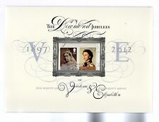 2012 Diamond Jubilee Queen Elizabeth II Commemorative Document Limited Edition