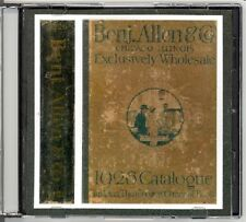 1926 Benj. Allen Wholesale catalogue on CD - Art Deco era Jewelry, Watches, more