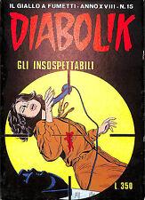 [857] DIABOLIK ed. Astorina 1979 Anno XVIII n.  15 stato Edicola