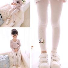 Infantil Bebé Leggings Floral Pantalones Elásticos Informales Calcetines Largos