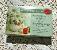 """""""FOR SOMEONE SPECIAL"""" Pass it Along Cards NEW in pkg 25 pc 3x2"""""""